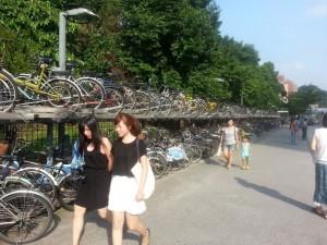 Využívanie bicyklov v Taiwane