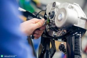 Haibike - montáž motora