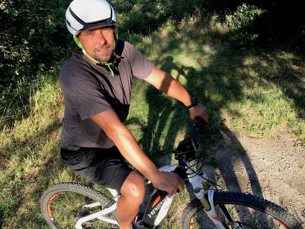 Dodo_Dubravský jazda na elektrobicykly v Karpatoch