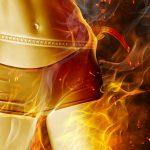 telo v ohni