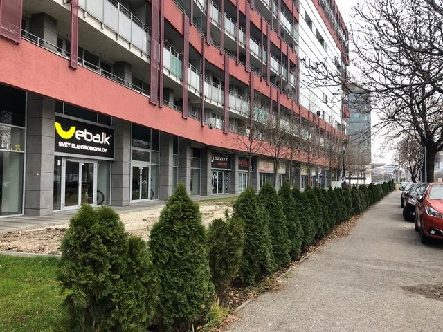Predajňa elektrobicyklov na Račianskej v Bratislave