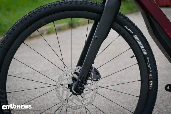 detail kolesa a brzdy